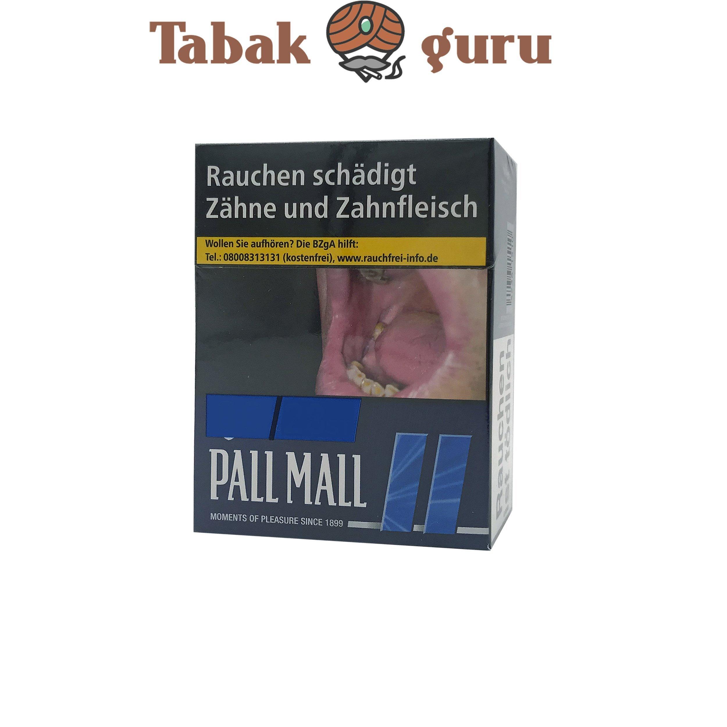 Pall Mall Blue / Blau Zigaretten XXL Box (25 Stück)