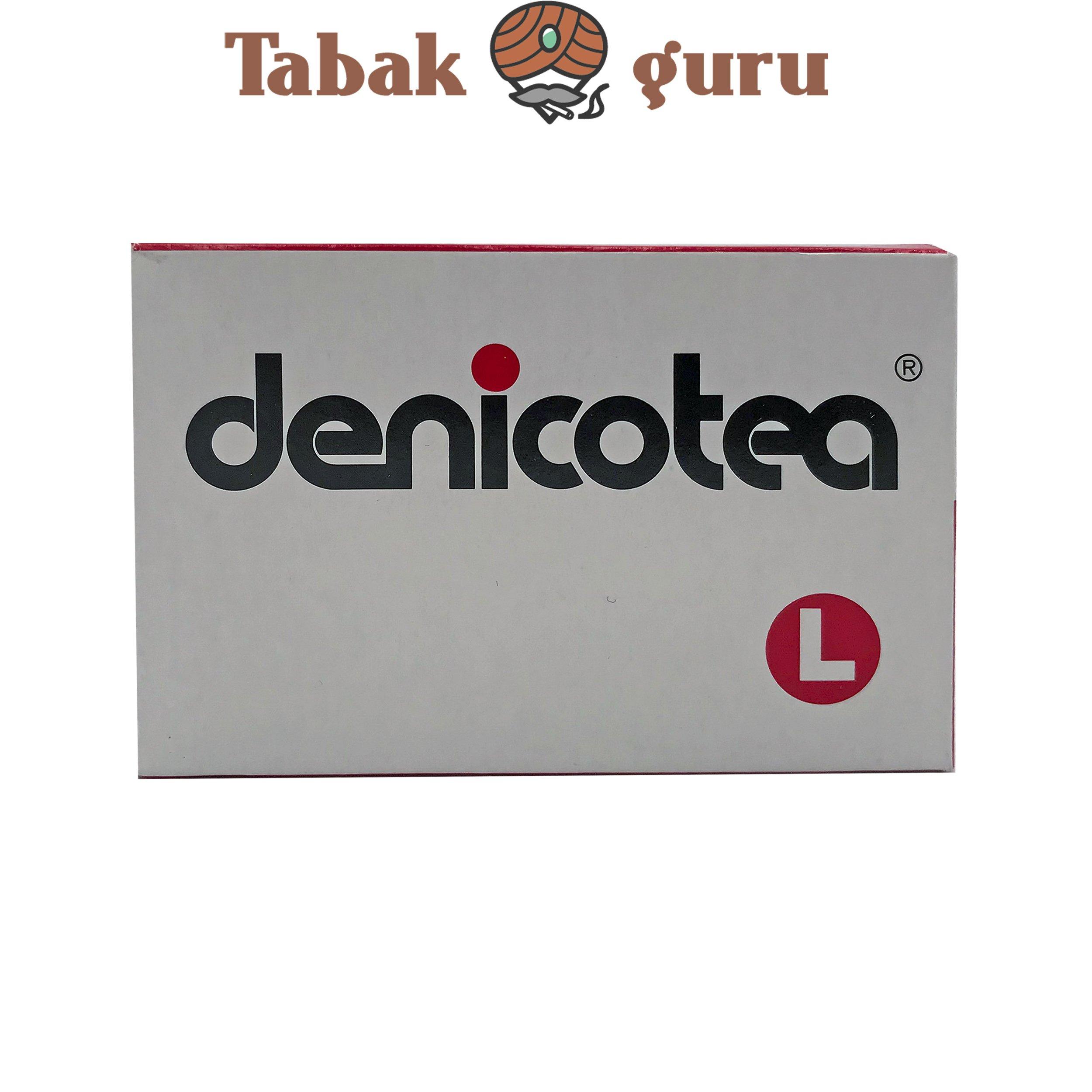 Denicotea L-Kieselgelfilter 10er Packung für Spitzen