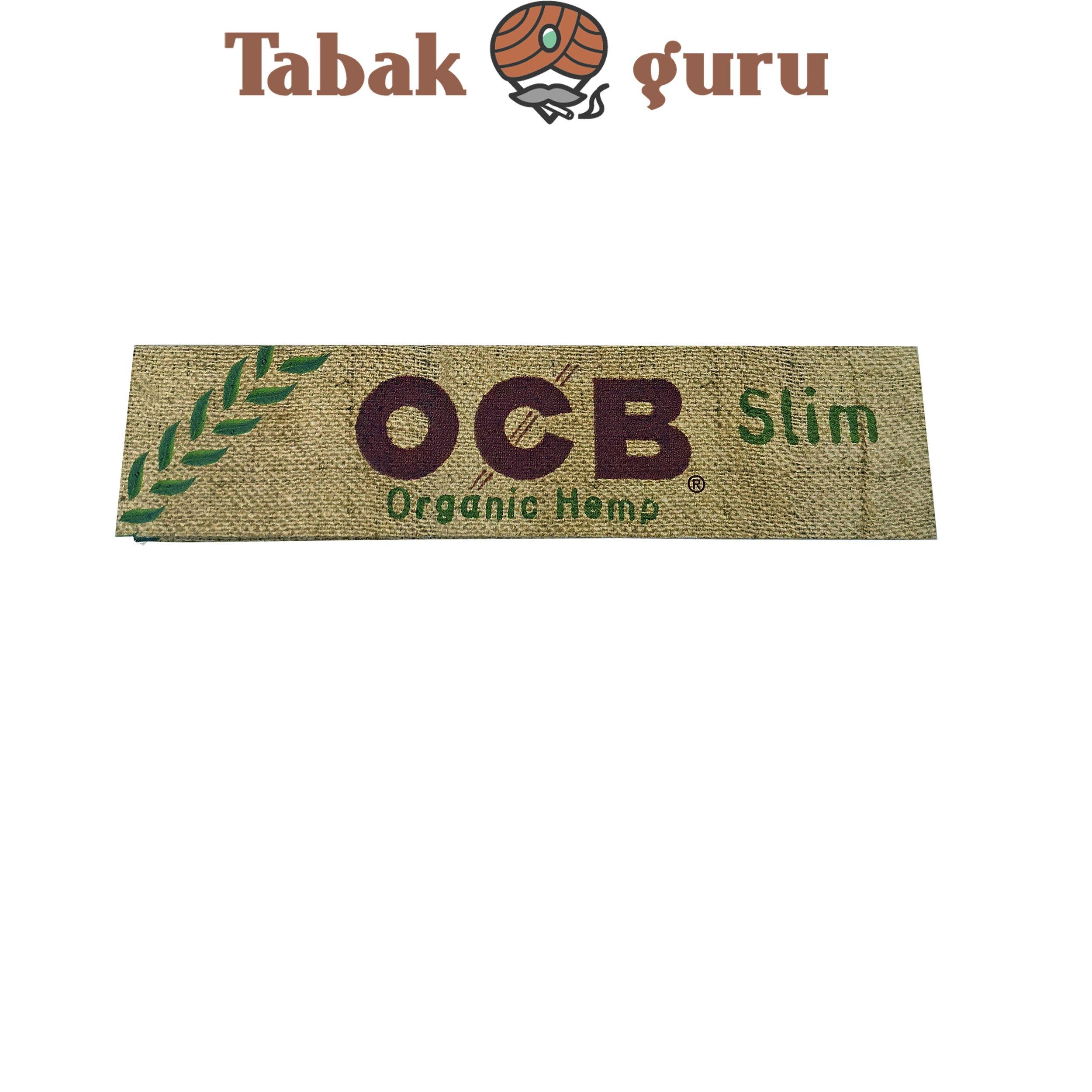 OCB Organic Hemp Slim Paper