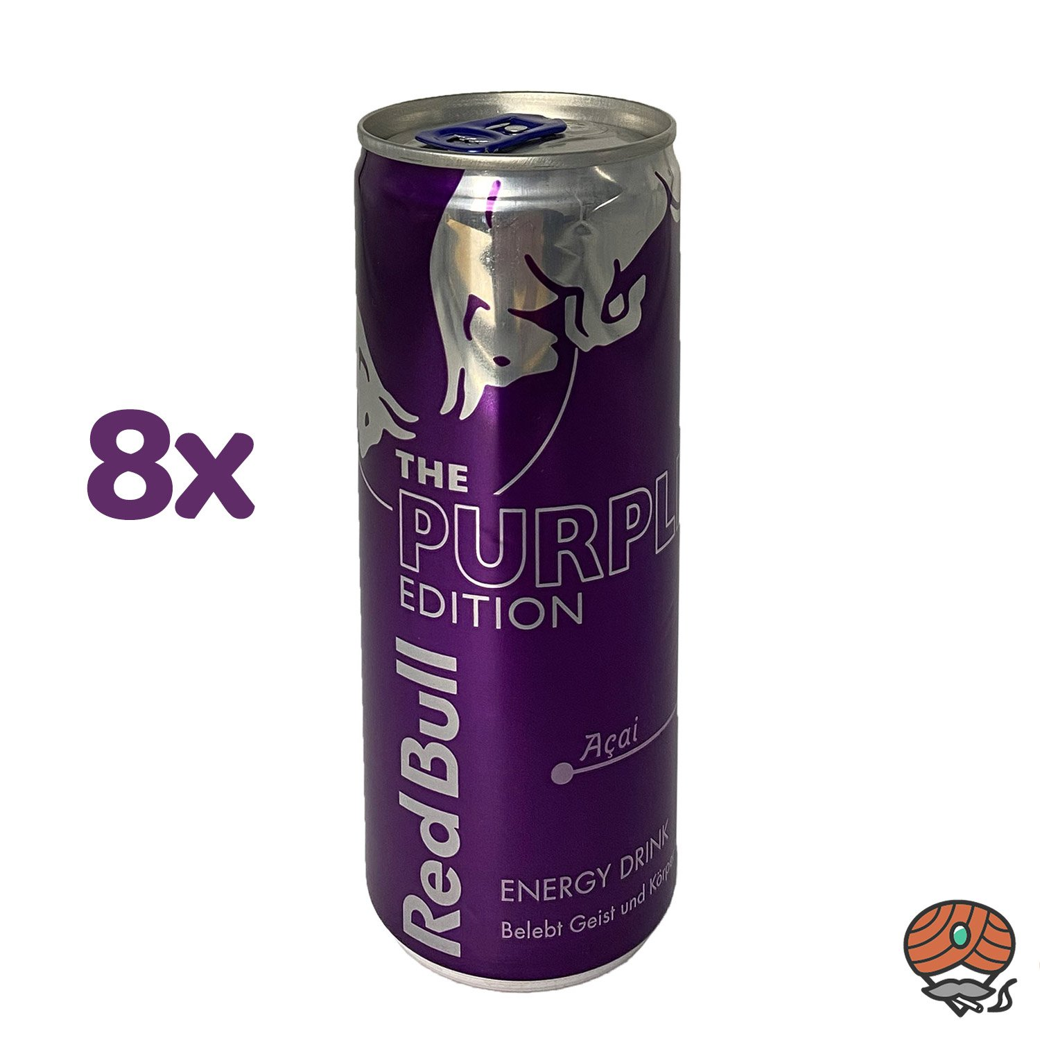 8 x Red Bull Energy Drink THE PURPLE EDITION, Açai-Beere, 250 ml Dose