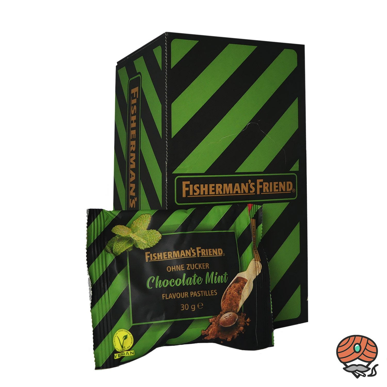 Fisherman`s Friend Chocolate Mint ohne Zucker 20 x 30 g