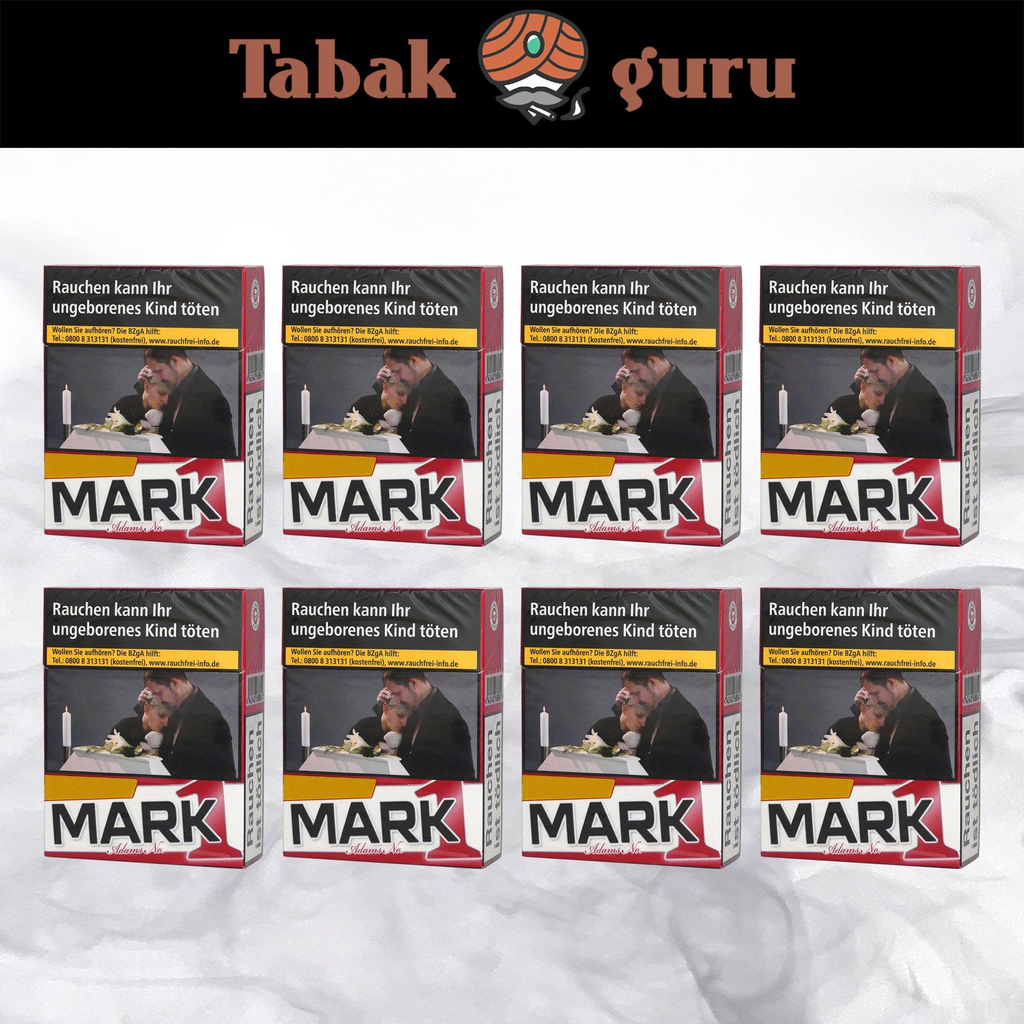 1 Stange Mark Adams No. 1 / Mark1 Original Red XL Zigaretten à 25 Stück