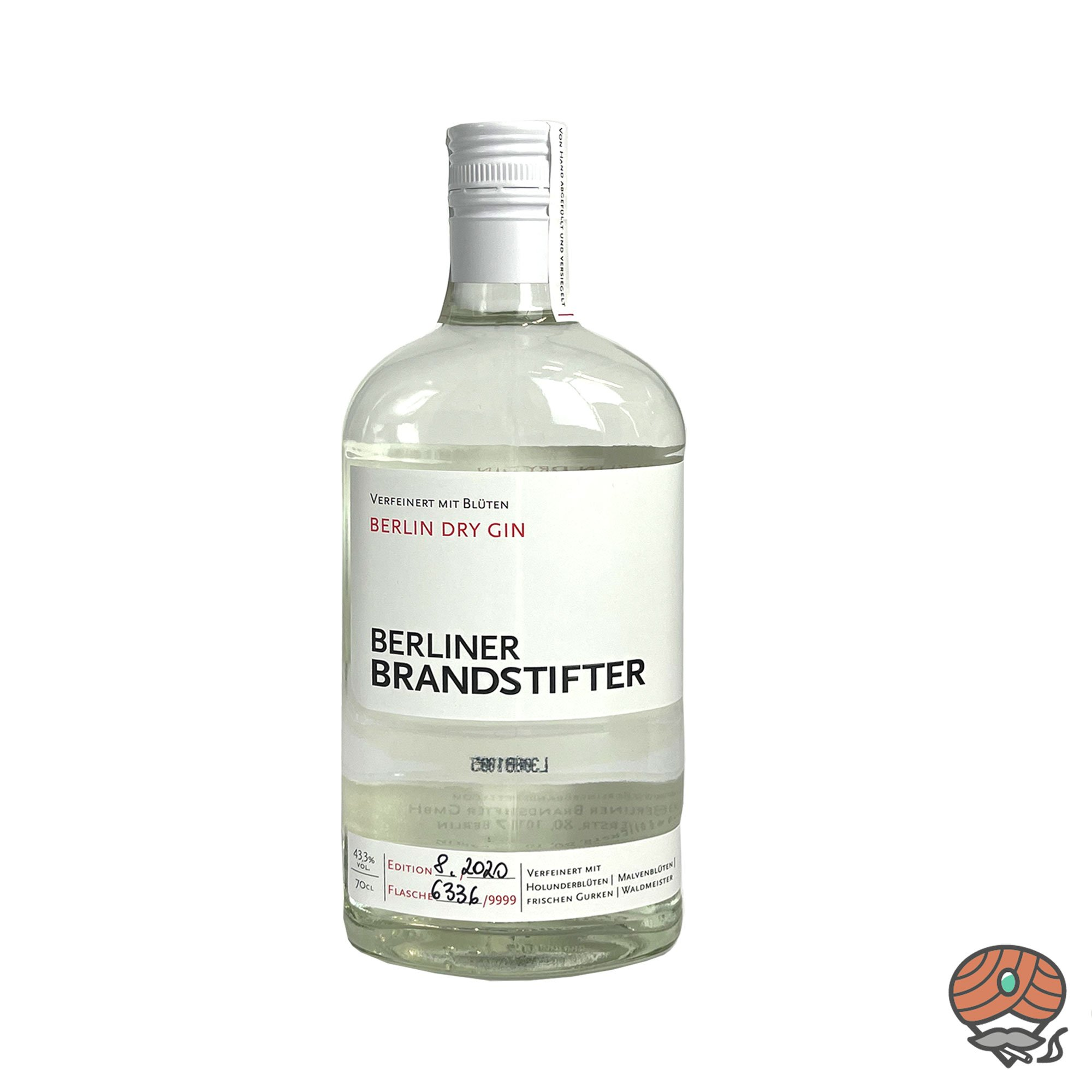 Beliner Brandstifter - Berlin Dry Gin 0,7l, alc. 43,3 Vol.-%