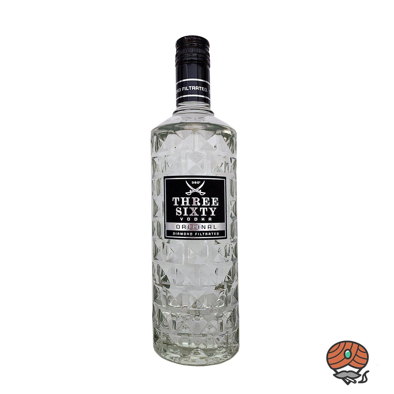 Three Sixty Original Vodka 0,7 l, alc. 37,5 Vol.-%