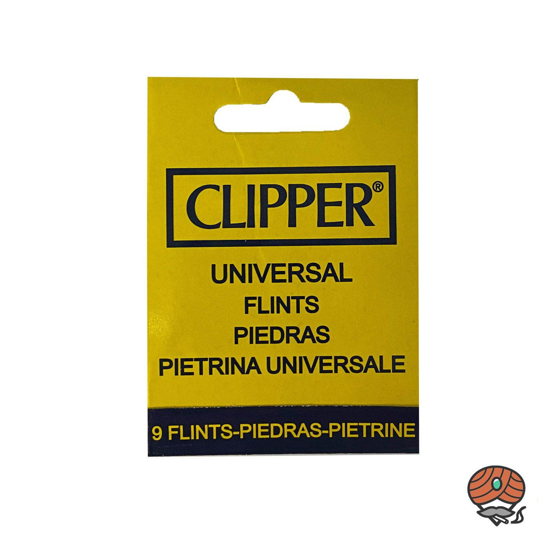 Clipper Feuersteine 9 à Heftchen - Universal Flints