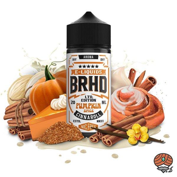 BRHD Barehead Pumpkin Spice & Cinnanroll Ltd. Edition DIY Vape Aroma 20 ml Shake & Vape