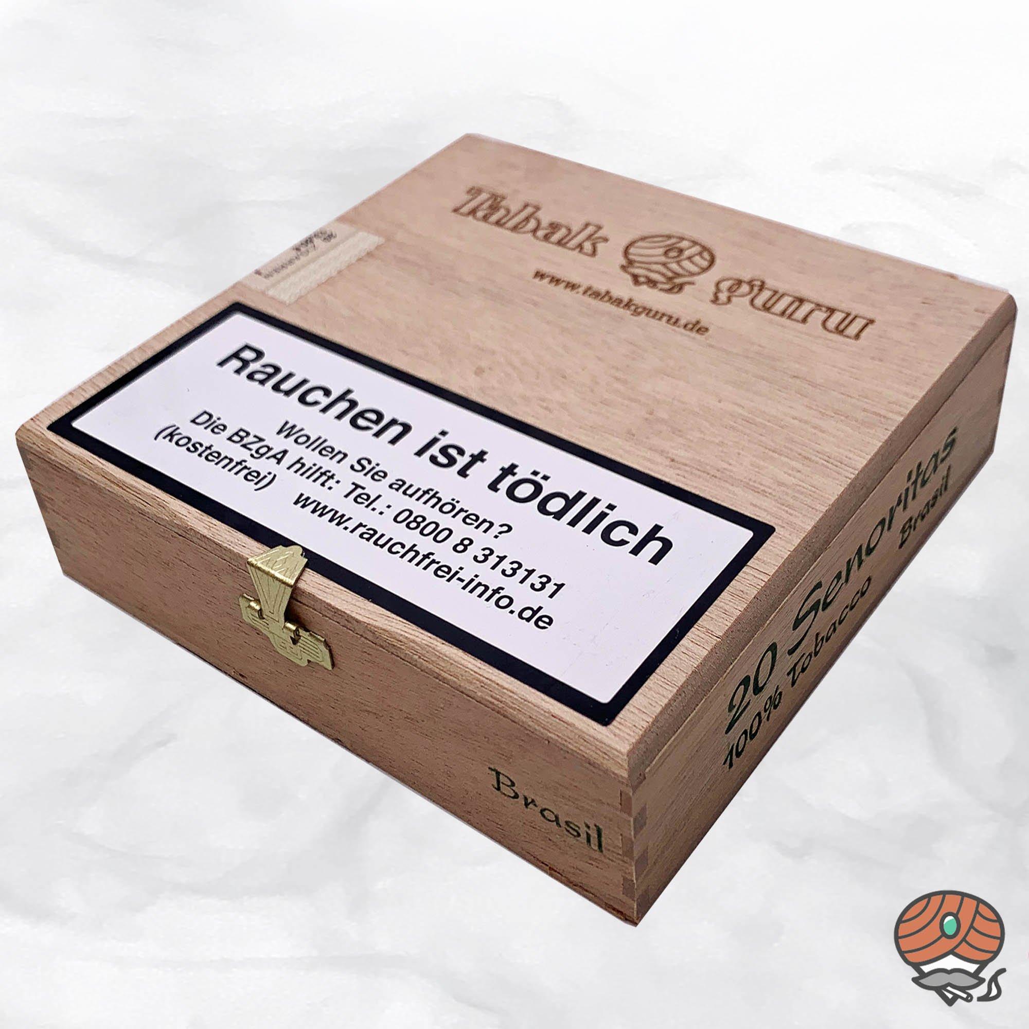20 Tabakguru Senoritas Brasil Zigarren 100 % Tabak