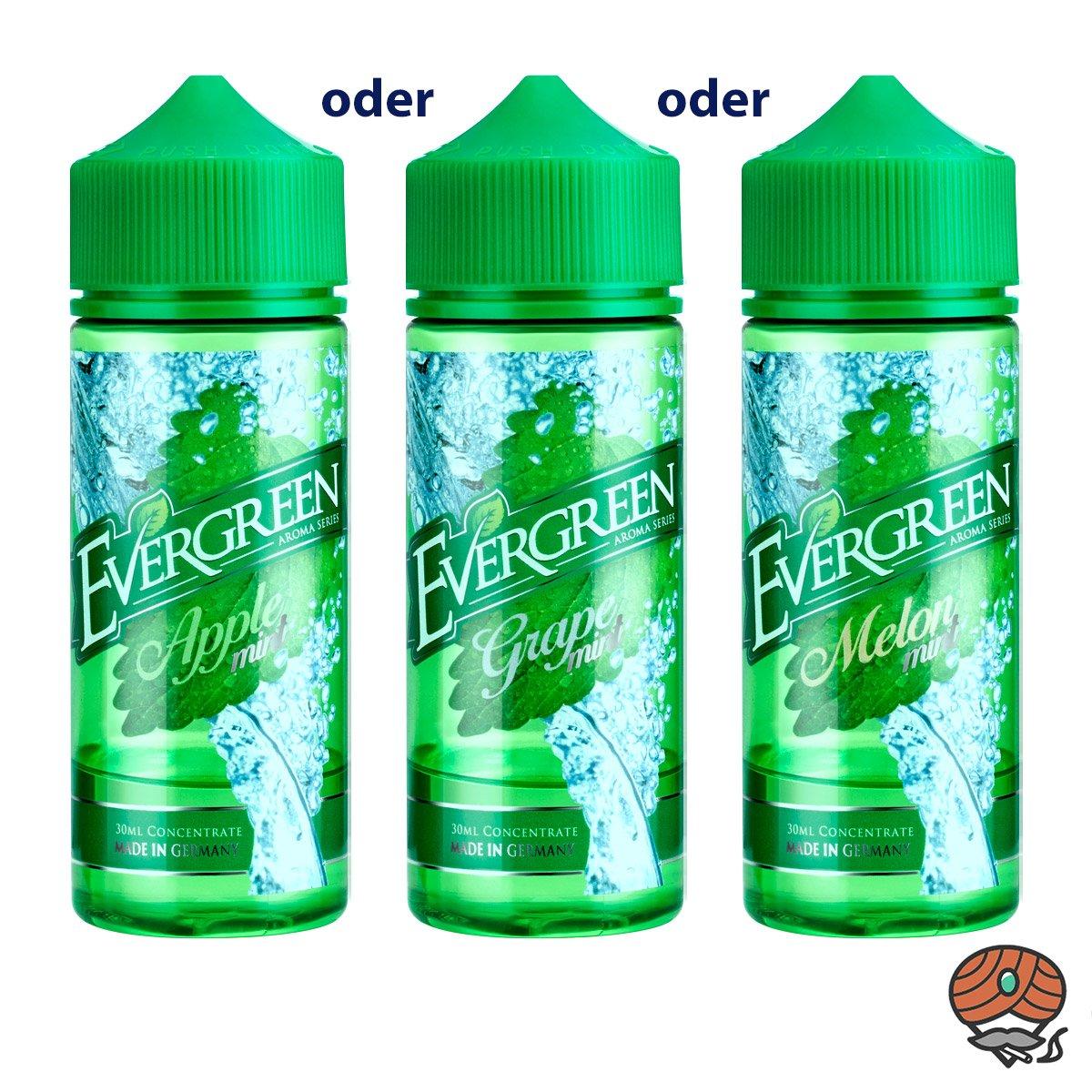 1 x Evergreen Aroma 30 ml - aus allen Sorten WÄHLBAR