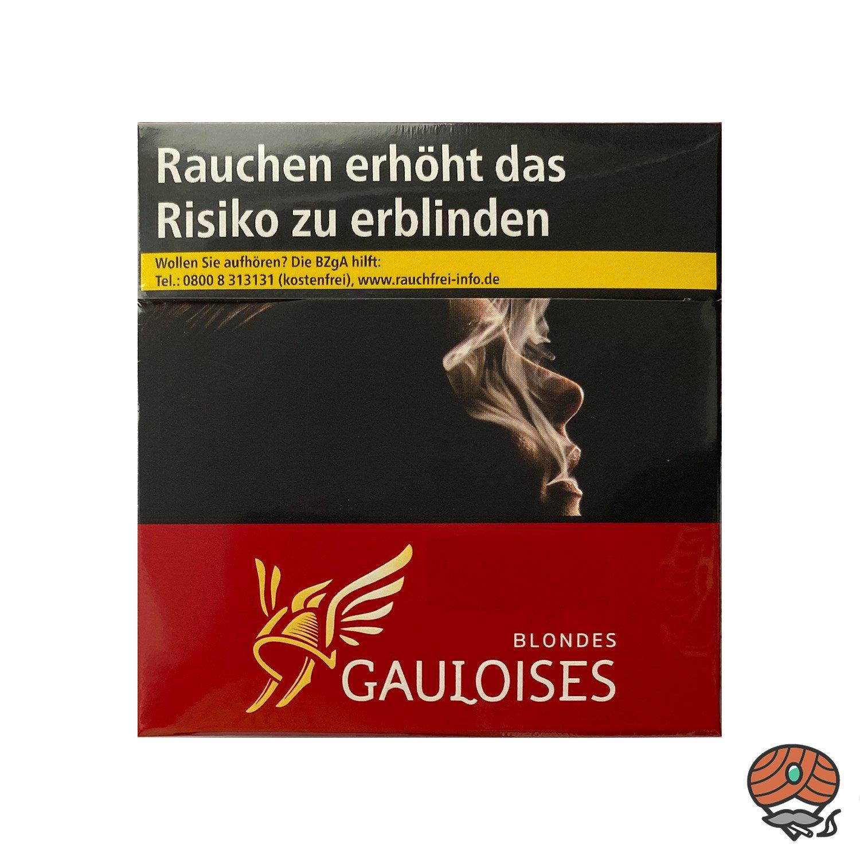 Gauloises Blondes Rot Zigaretten 49 Stück