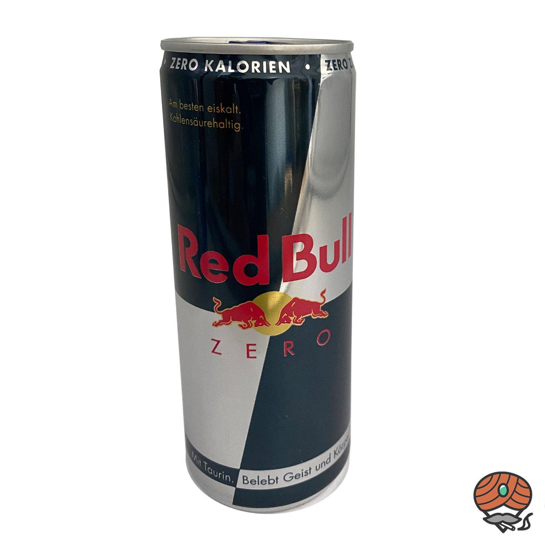 Red Bull Energy Drink, ZERO KALORIEN, 250 ml Dose