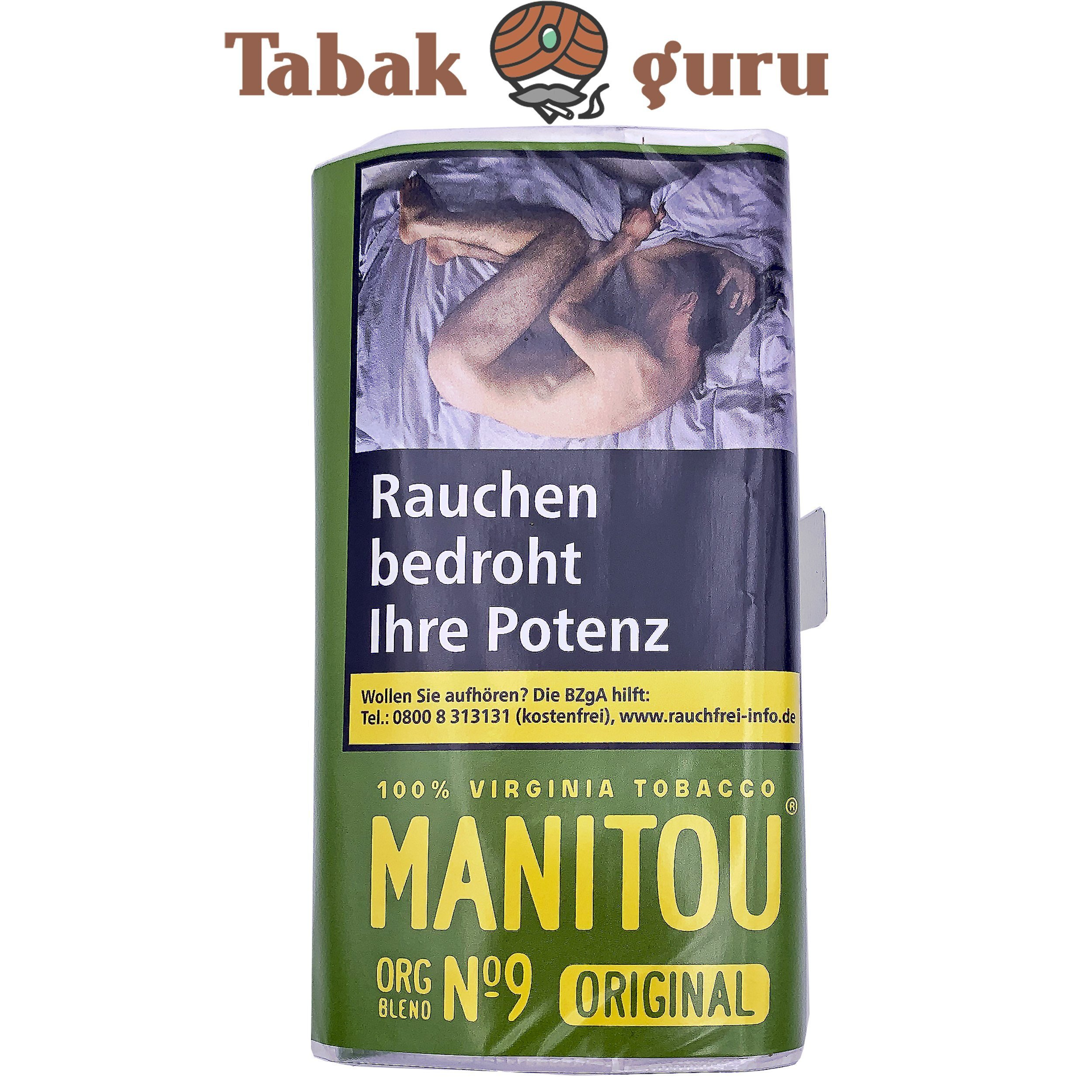 Manitou Organic Blend No.9 Green 30g Drehtabak