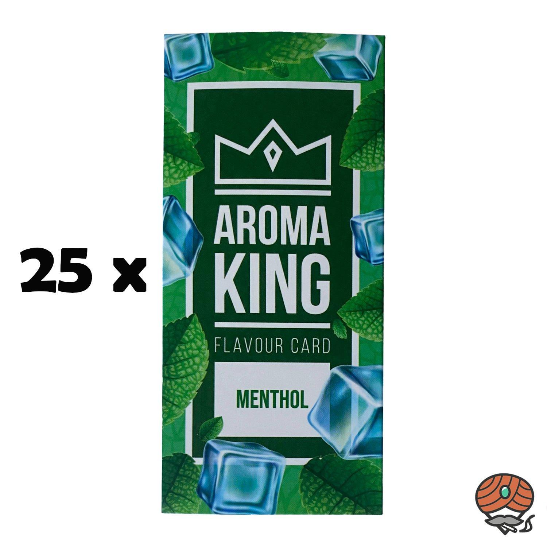 25 x Aromakarte MENTHOL von Aroma King - Aroma für Tabak & Zigaretten