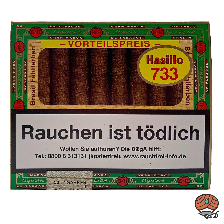 Hasillo Brasil Zigarren Nr. 733 - Brasil Fehlfarben