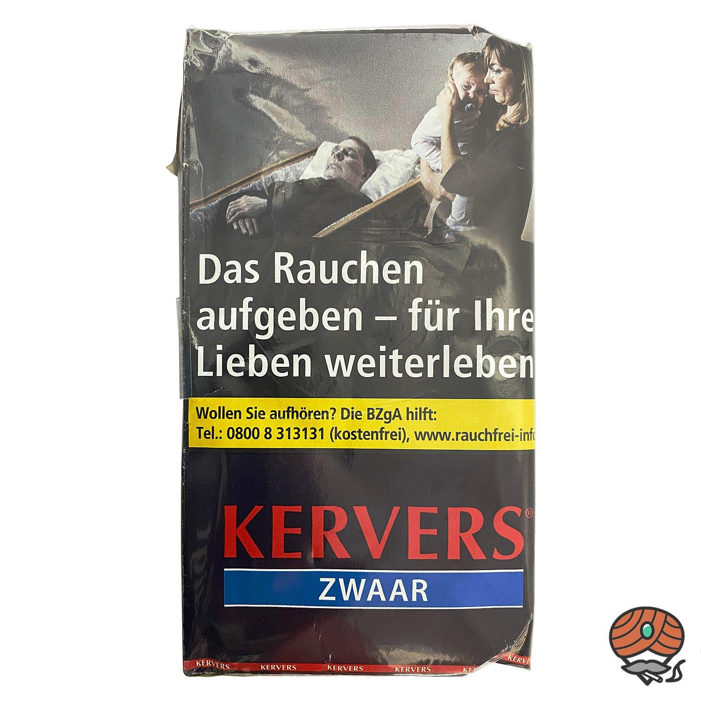 KERVERS Zwaar Drehtabak - Zigarettentabak - Tabak 40 g Pouch