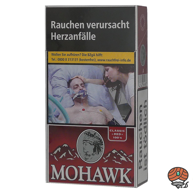 Mohawk Classic Red Filterzigaretten 100`S 20 Stück