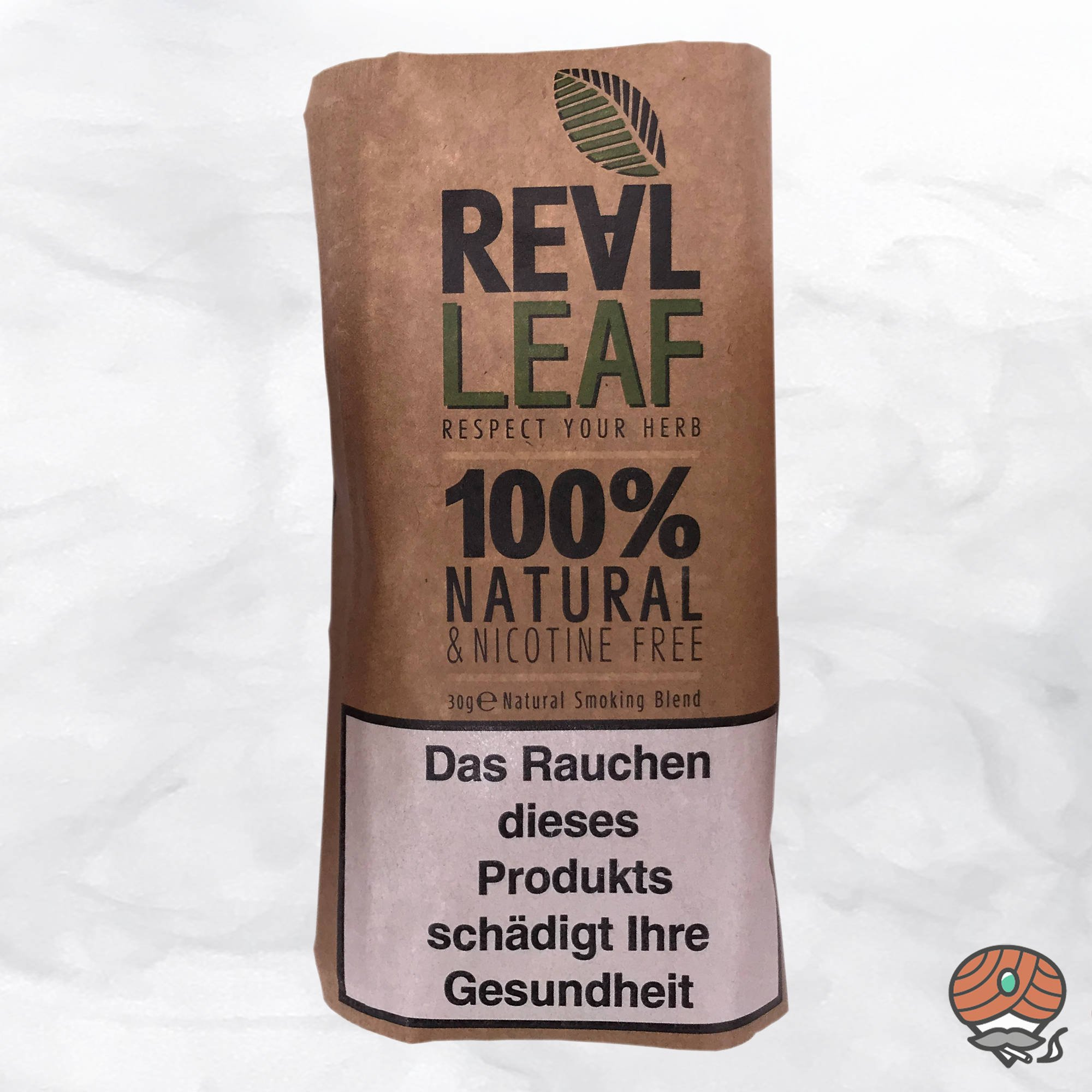 Real Leaf Classic, Tabakersatz, nikotinfrei, Kräutermischung 30g