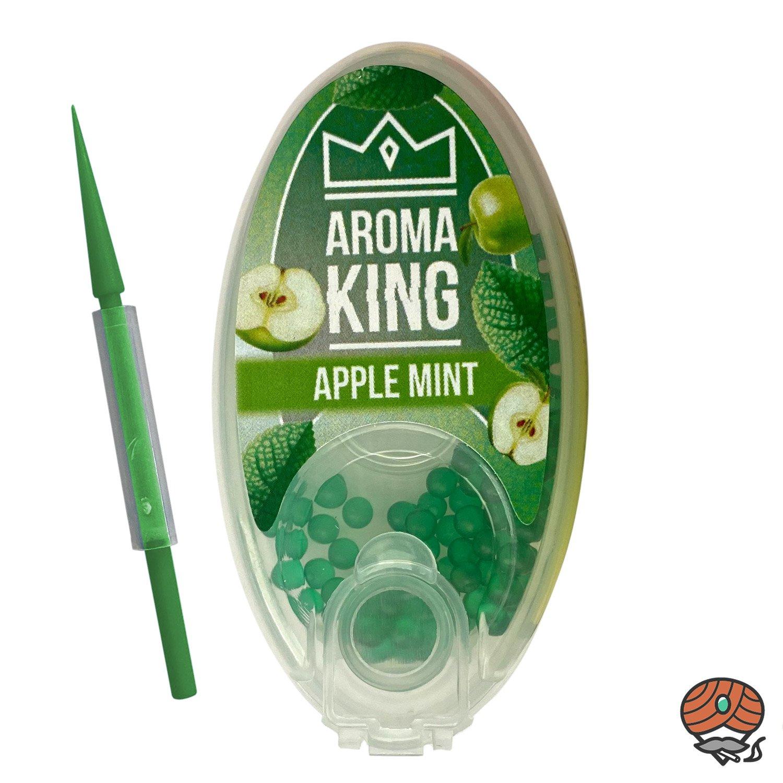 Aroma King Aromakapseln für Filterzigaretten - APPLE MINT Dose à 100 Kapseln