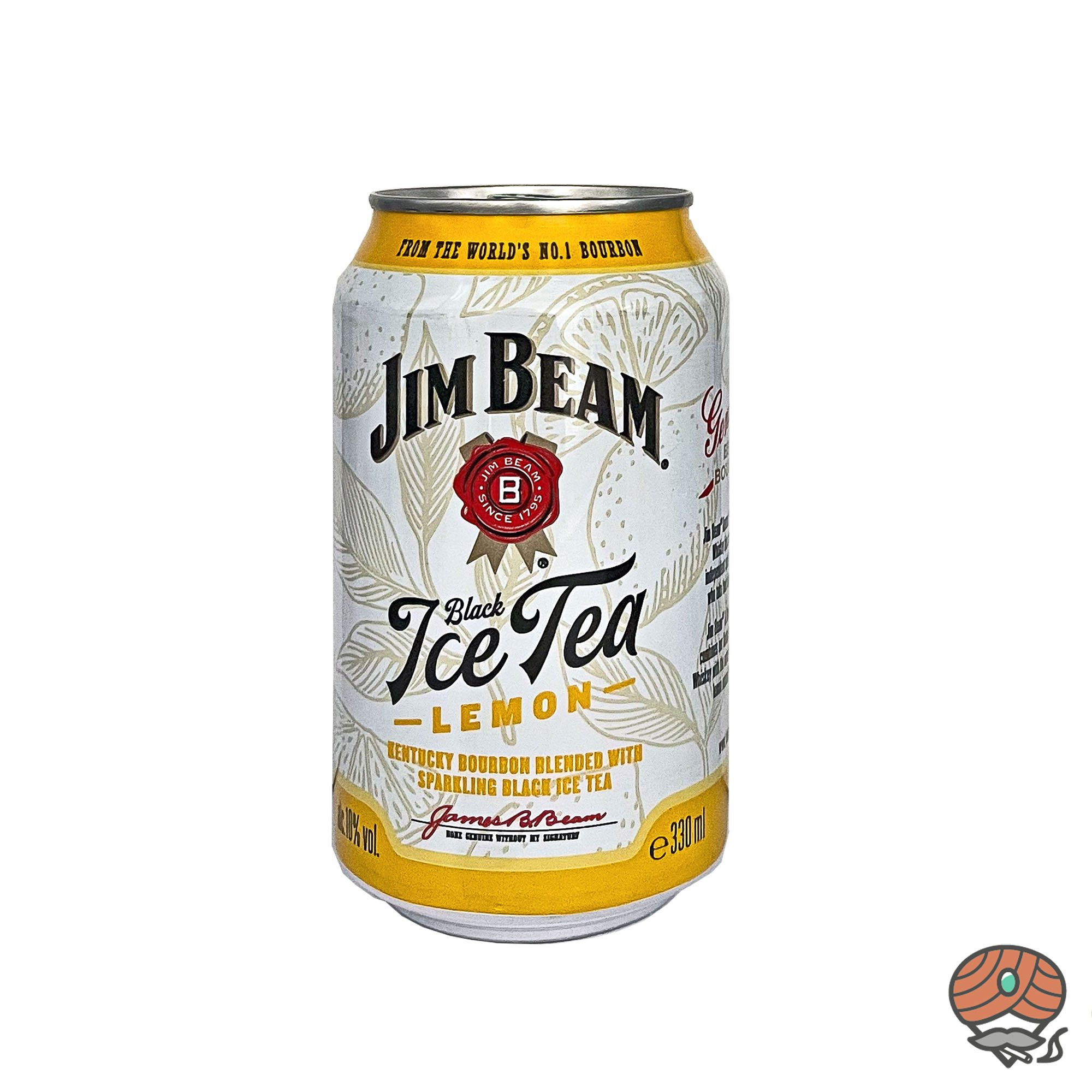 Jim Beam Whiskey + Black Ice Tea 0,33 l inkl.0,25 Euro Pfand (alc. 10% Vol)