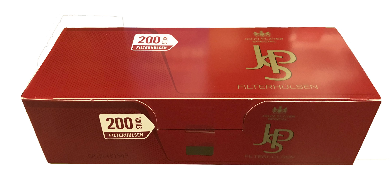 JPS Red Filterhuelsen King Size
