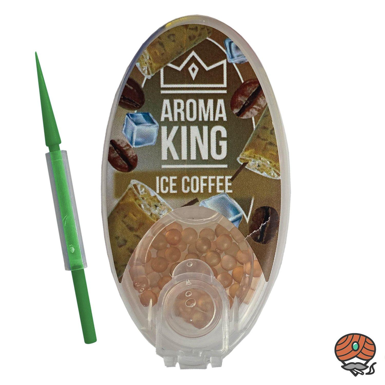Aroma King Aromakapseln für Filterzigaretten - ICE COFFEE Dose à 100 Kapseln