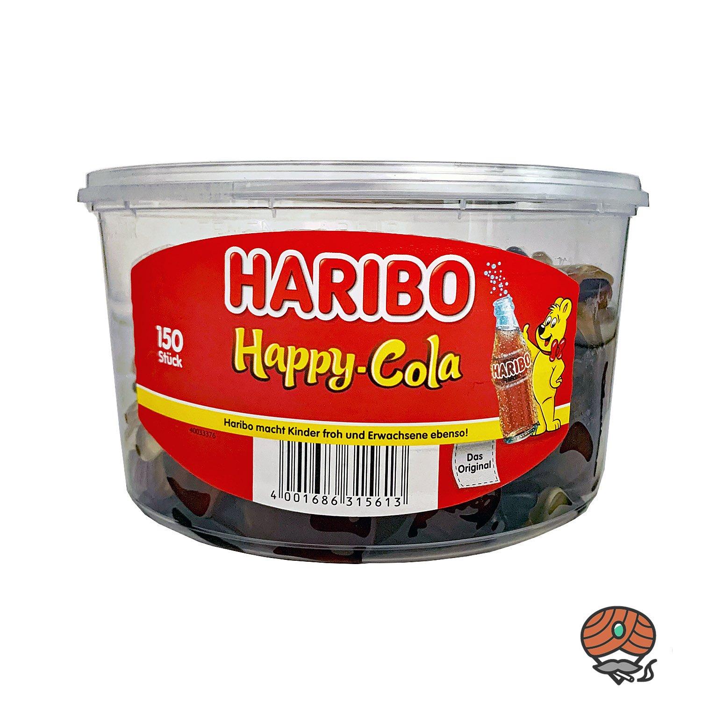 Haribo Happy Cola Dose 150 Stück / 1200g