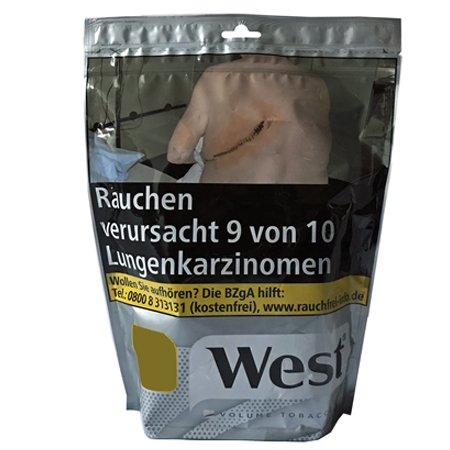 West Silver / Silber Volumentabak 105 g Beutel