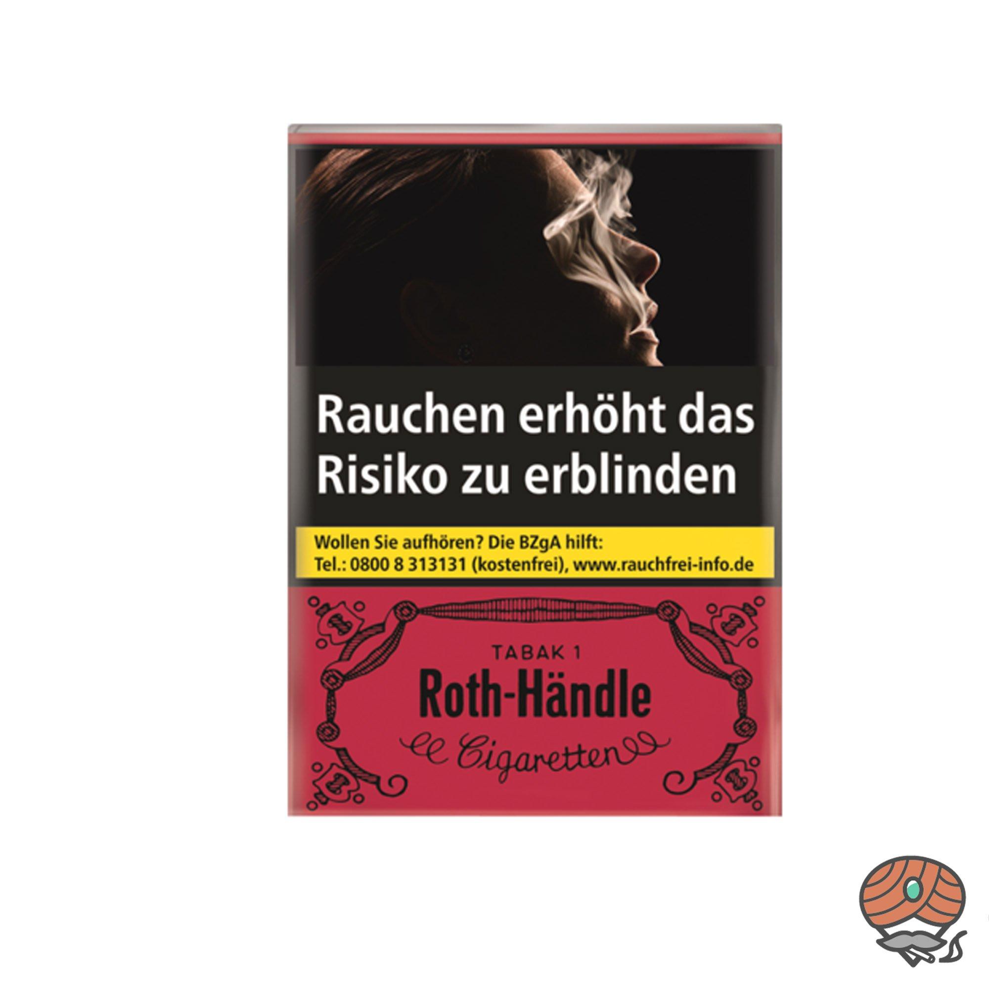 Roth Händle Zigaretten 20 Stück (ohne Filter)
