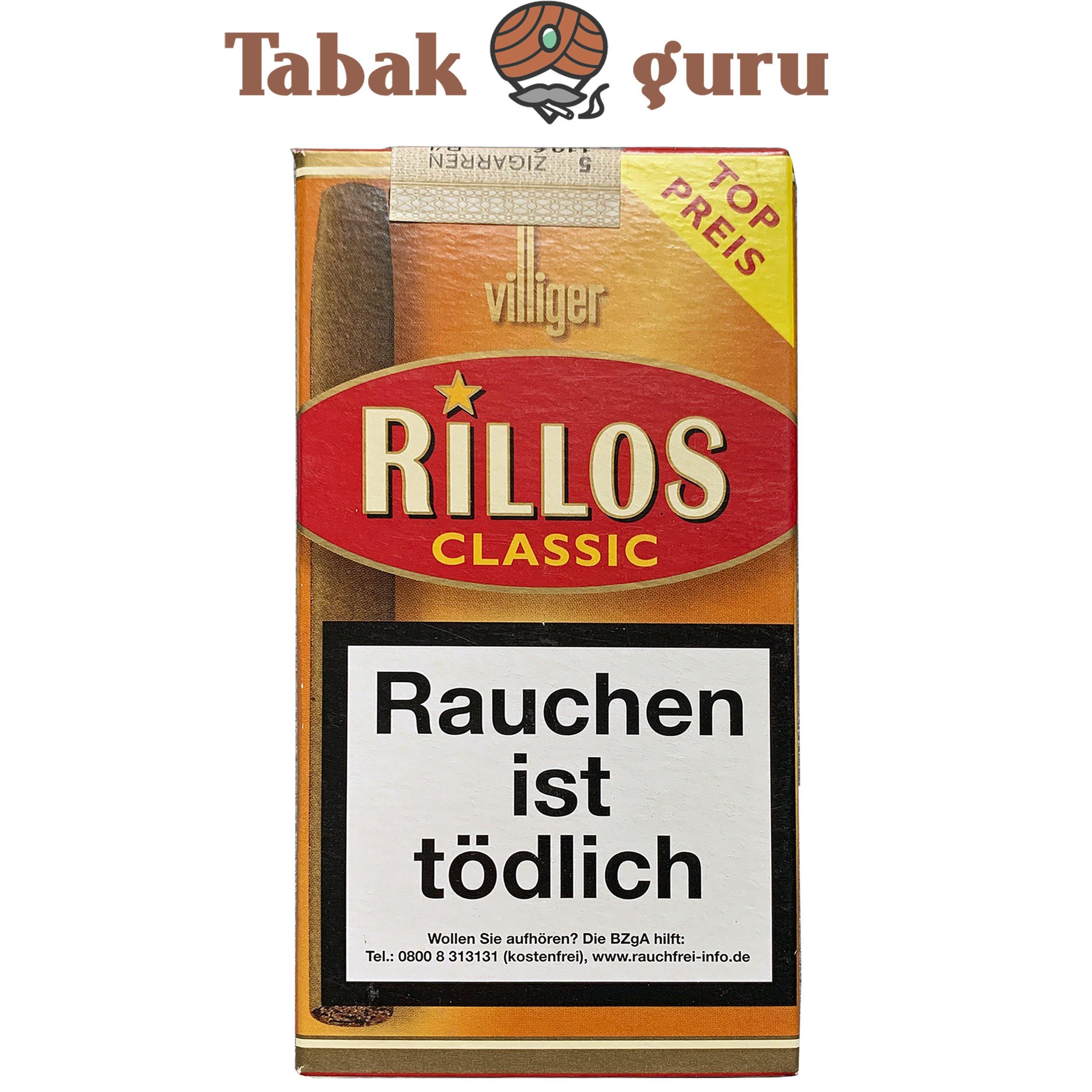 Villiger Rillos Classic Zigarillos