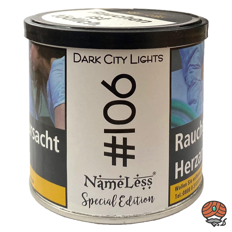 NameLess Dark City Lights- #106 - 200 g Shisha Tabak
