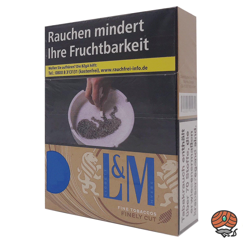 L&M Simply Blue Zigaretten ohne Zusätze L Schachtel 21 Stück