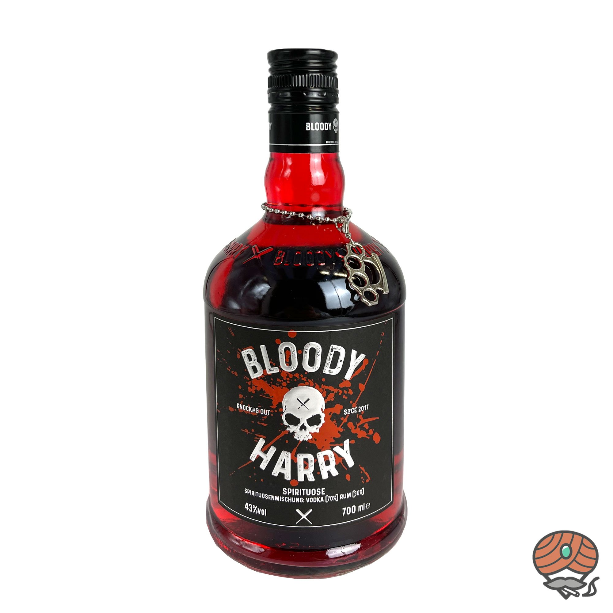 Bloody Harry Vodka + Rum 0,7 l, alc. 43 Vol.-%