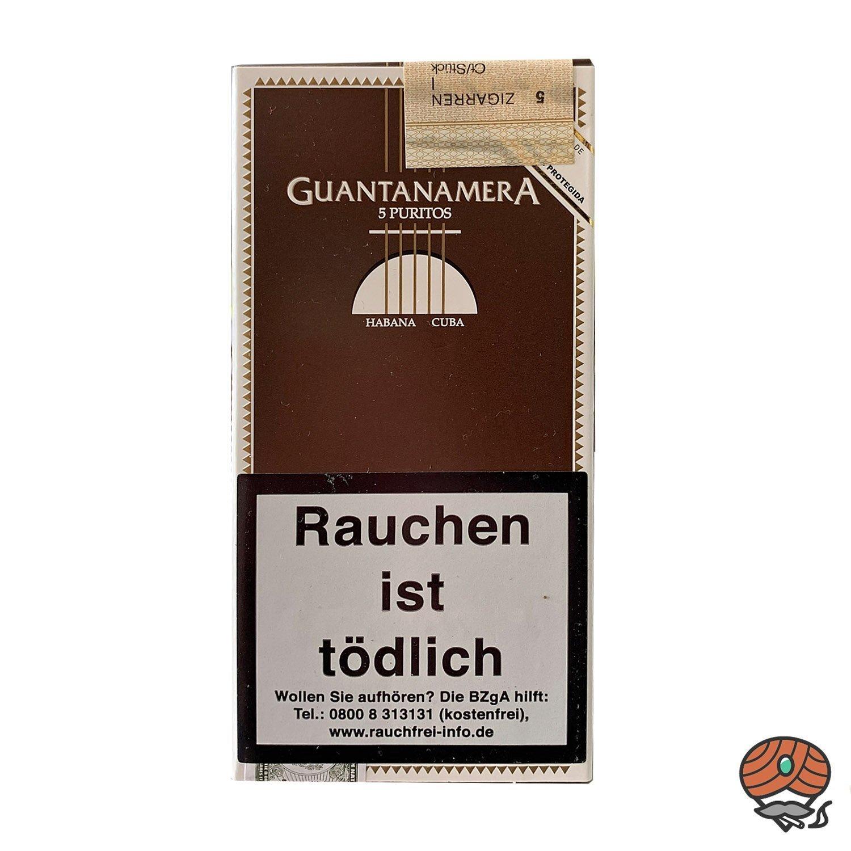 Gantanamera Puritos Zigarren Inhalt 5 Stück