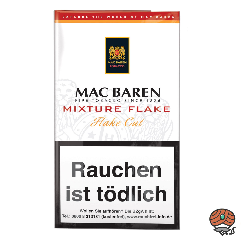 Mac Baren Mixture Flake Pfeifentabak 50g Pouch