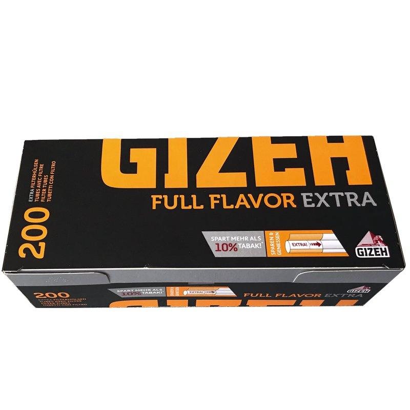 200 Gizeh Full Flavor Extra Filterhülsen