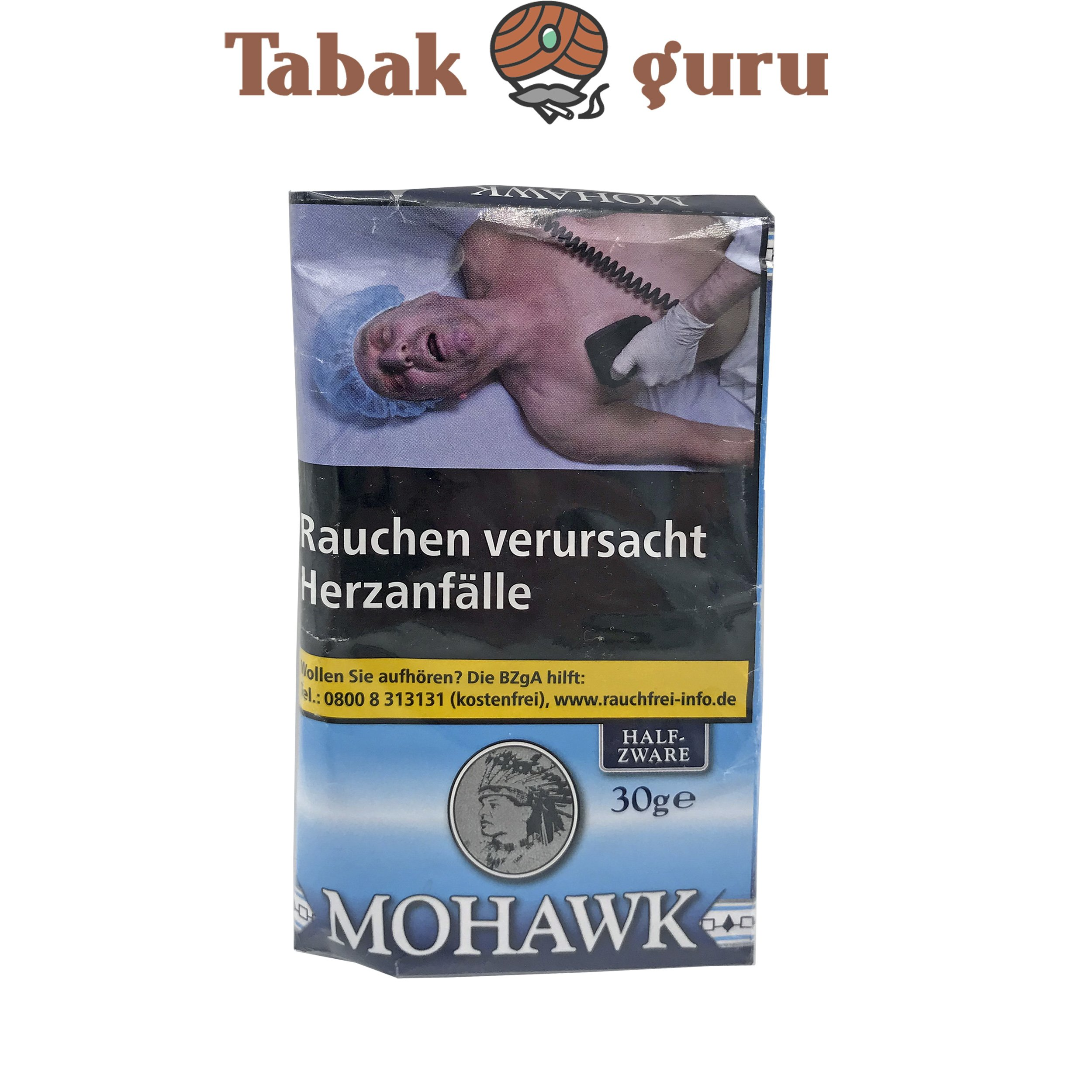 Mohawk Half Zware 30g Drehtabak Zigarettentabak