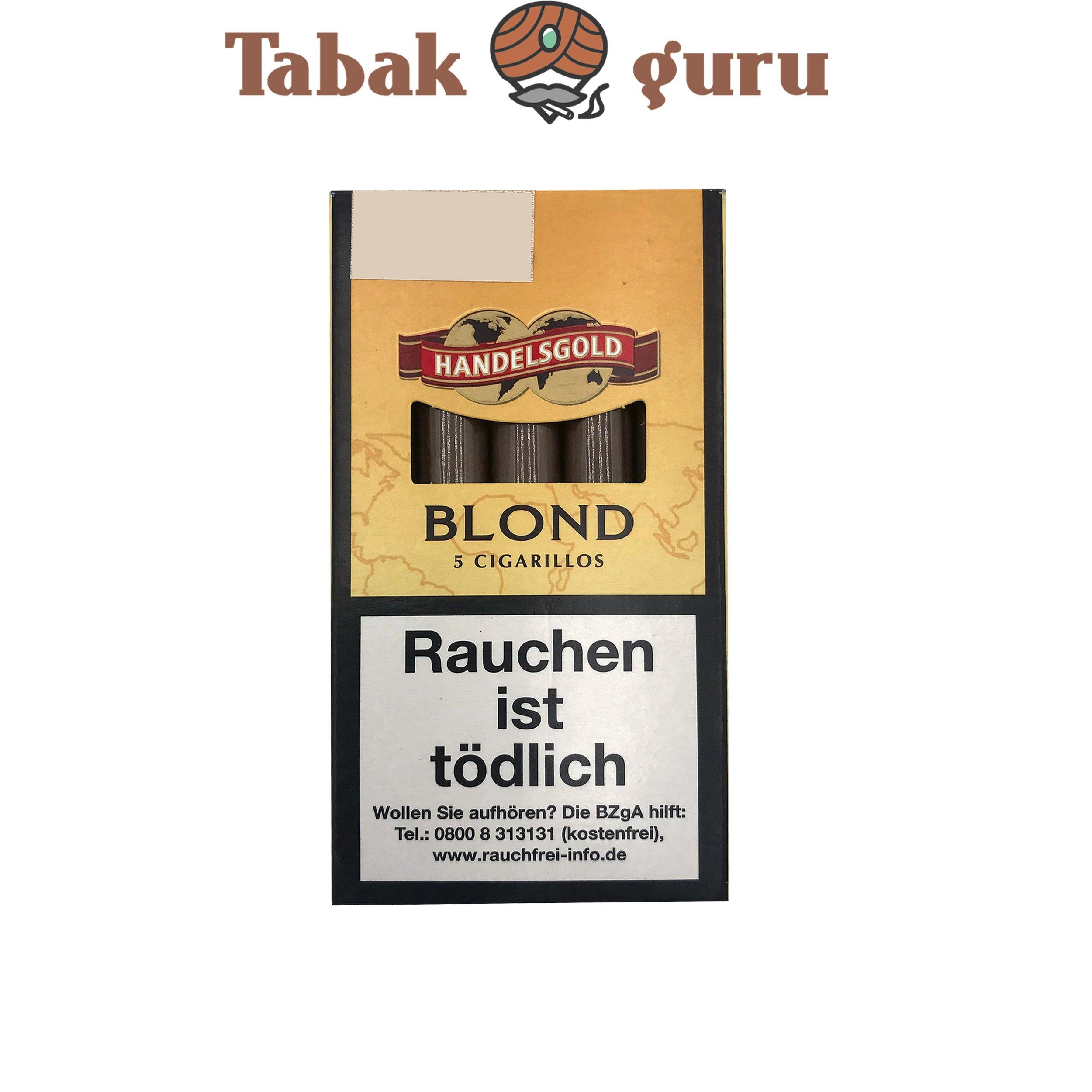 Handelsgold Blond No. 211 (Vanilla) Filterzigarillos a 5 Stück