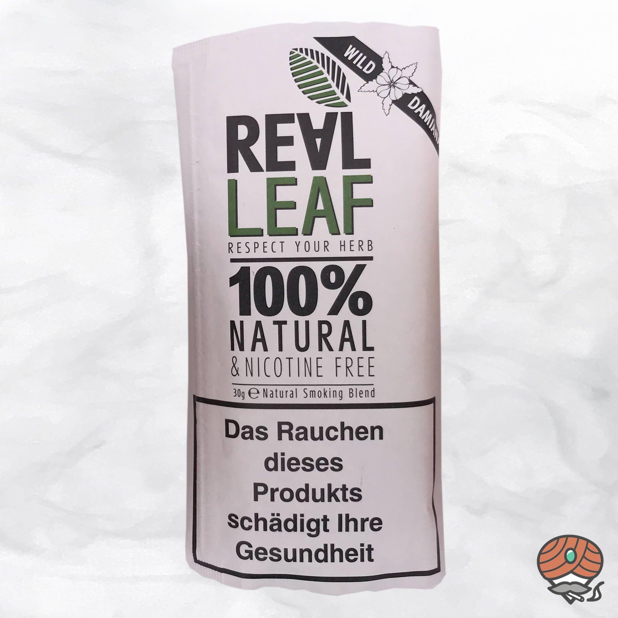 Real Leaf Wild Damiana, Tabakersatz, nikotinfrei, Kräutermischung 30g
