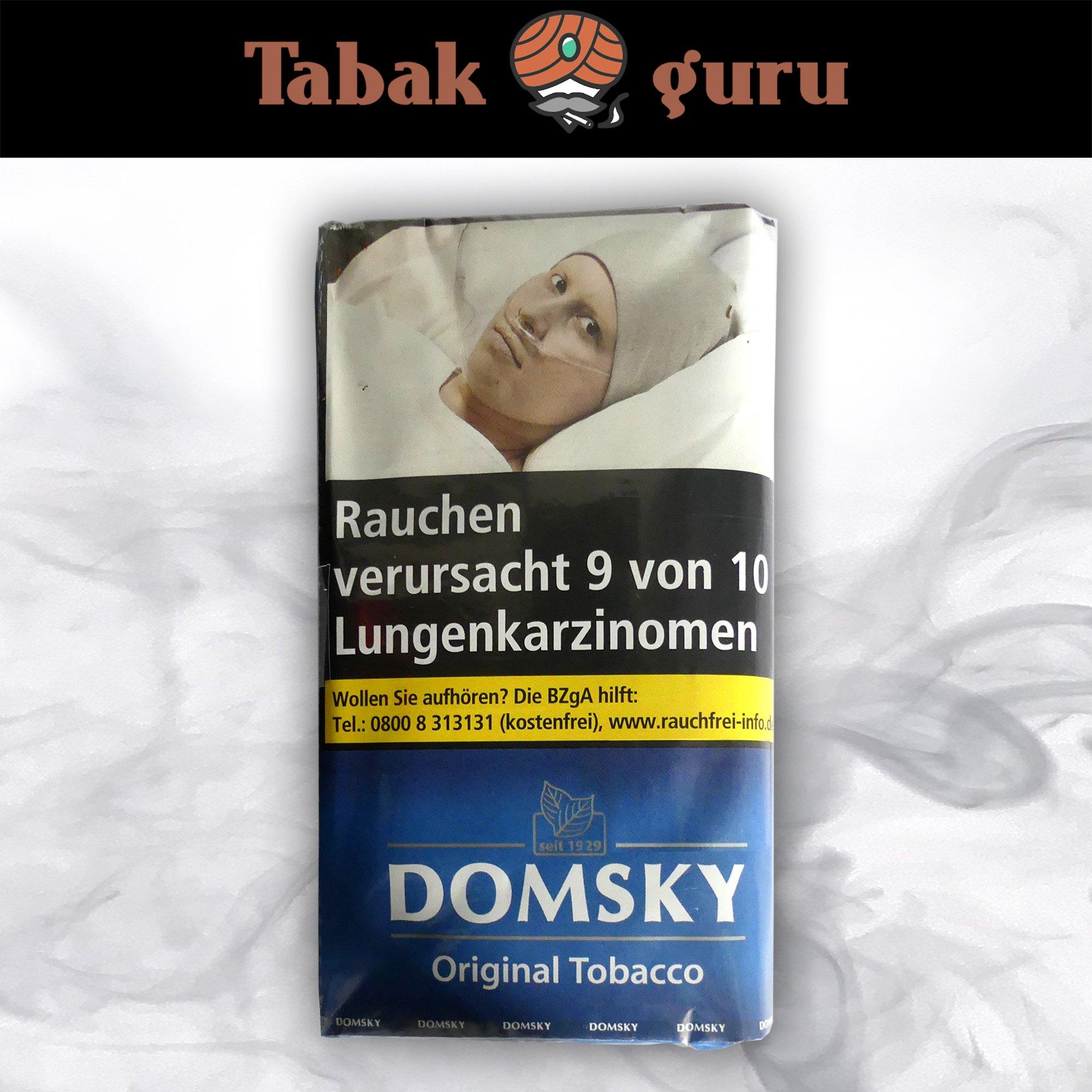 DOMSKY Original Tobacco Drehtabak 40 g