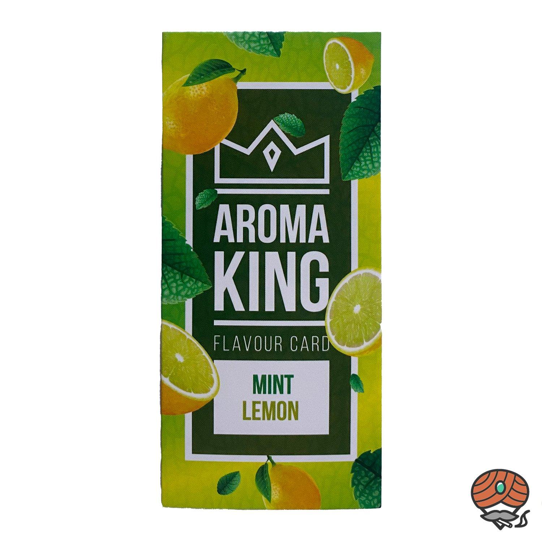 Aromakarte MINT LEMON von Aroma King - Aroma für Tabak & Zigaretten