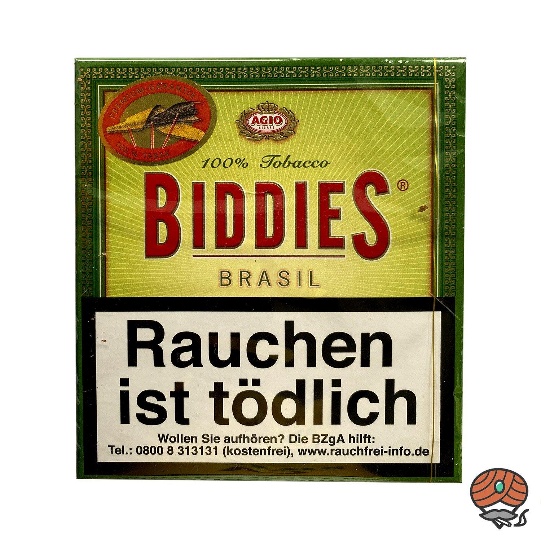Agio Biddies Brasil Zigarillos - 20 Stück