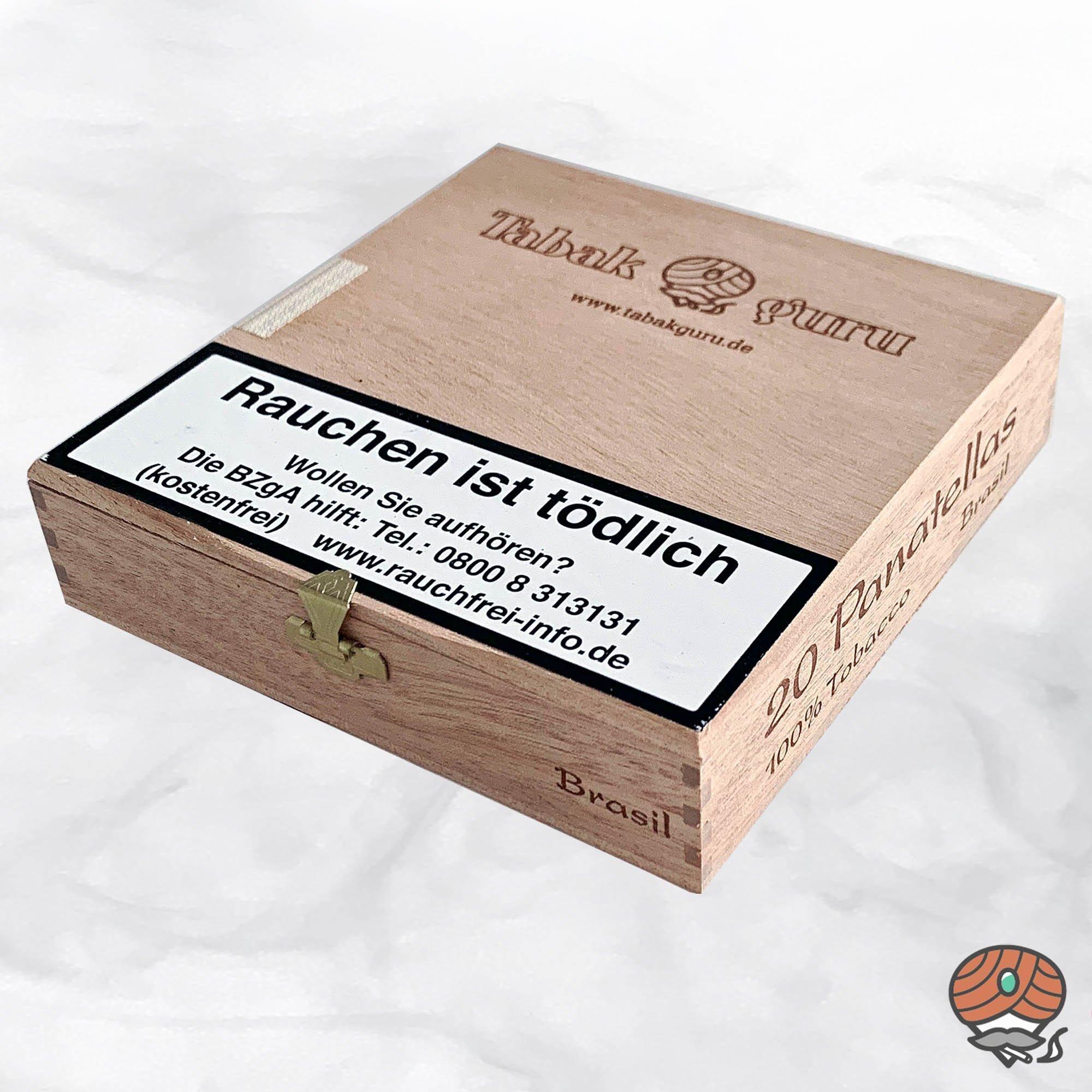 20 Tabakguru Panatellas Brasil Zigarren 100 % Tabak
