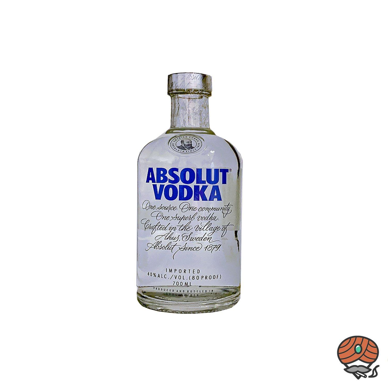 Absolut Vodka - Wodka 0,7 l, alc. 40 Vol.-%