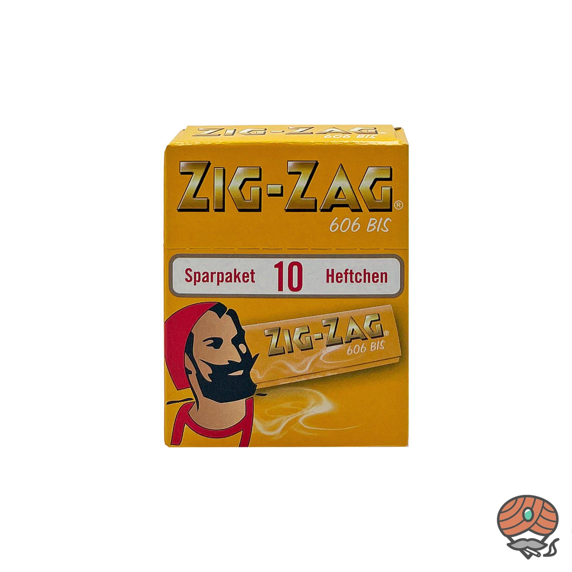 Zig-Zag Gelb im Sparpack Nr.606 Blättchen / Drehpapier 500 Blatt