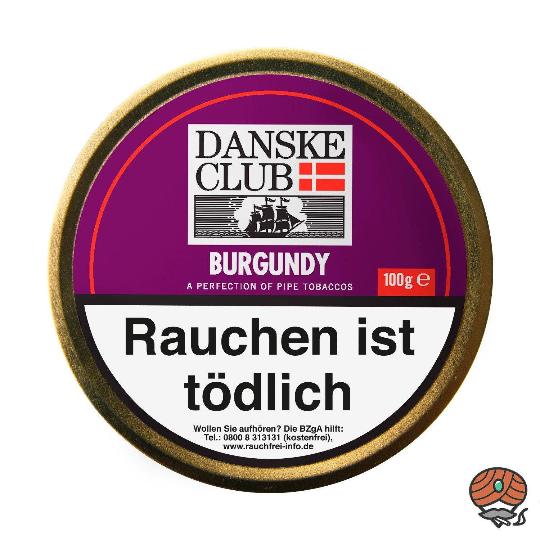 Danske Club Burgundy Pfeifentabak 100g Dose