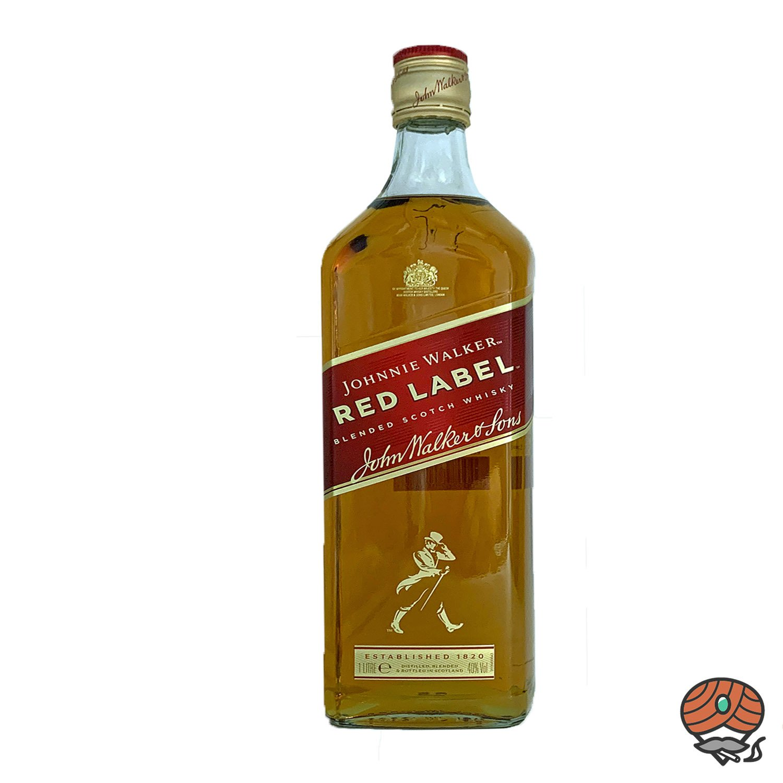 Johnnie Walker Red Label Blended Whiskey 1l, alc. 40 Vol.-%