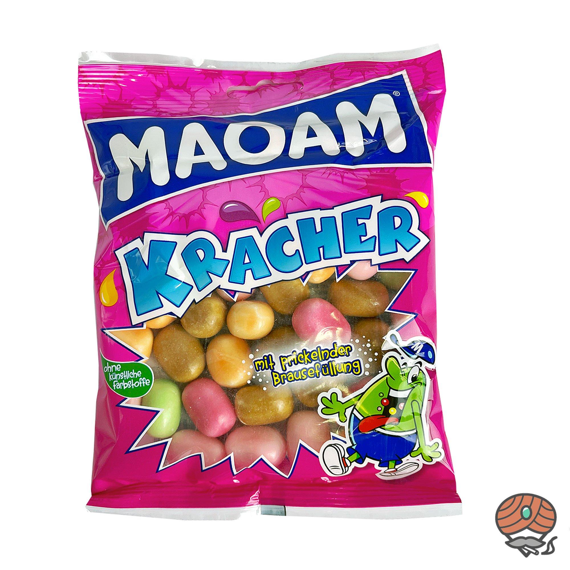 MAOAM Kracher Frucht Kaudragees mit prickelnder Brausefüllung