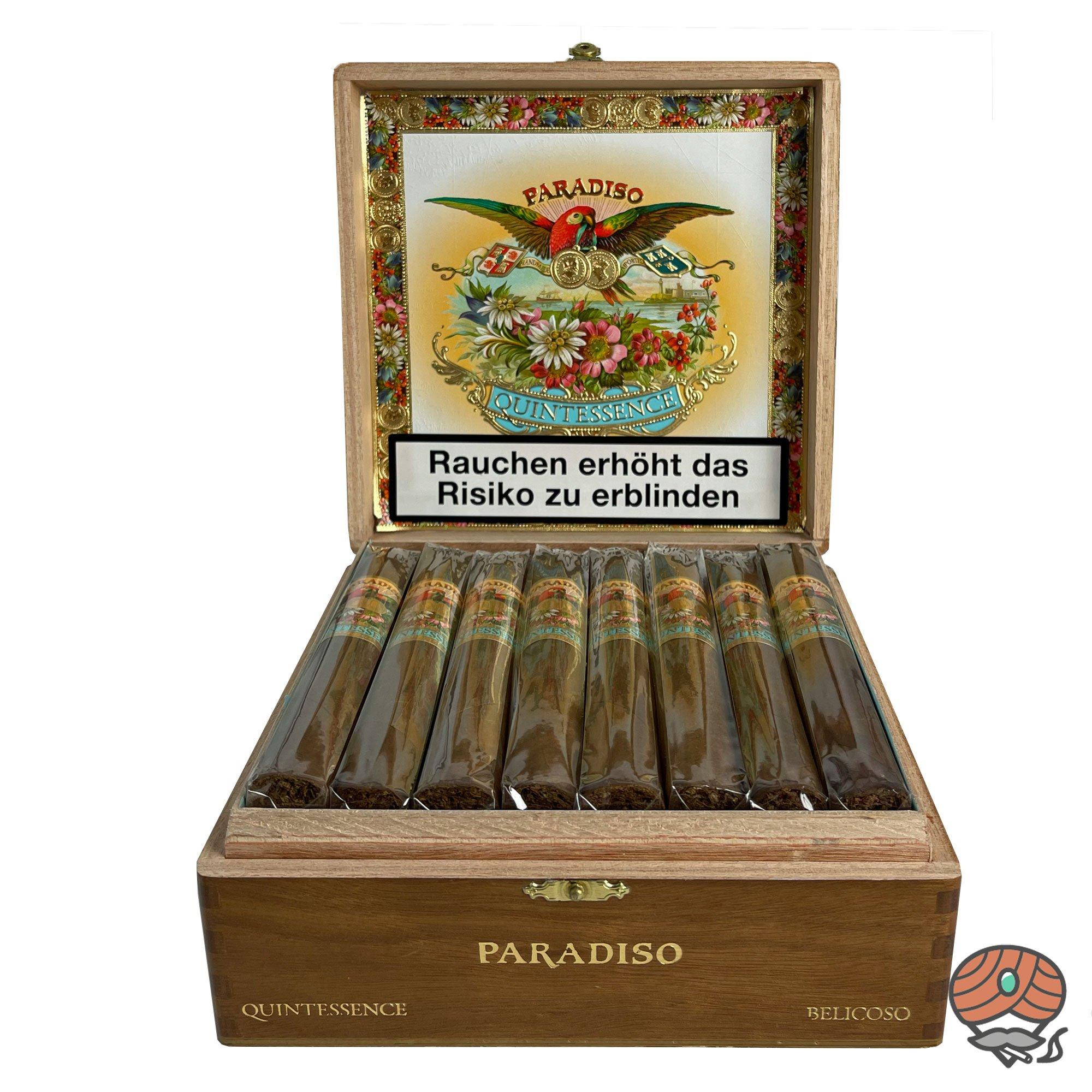 Paradiso Quintessence Belicoso Zigarre aus Nicaragua Kiste à 24