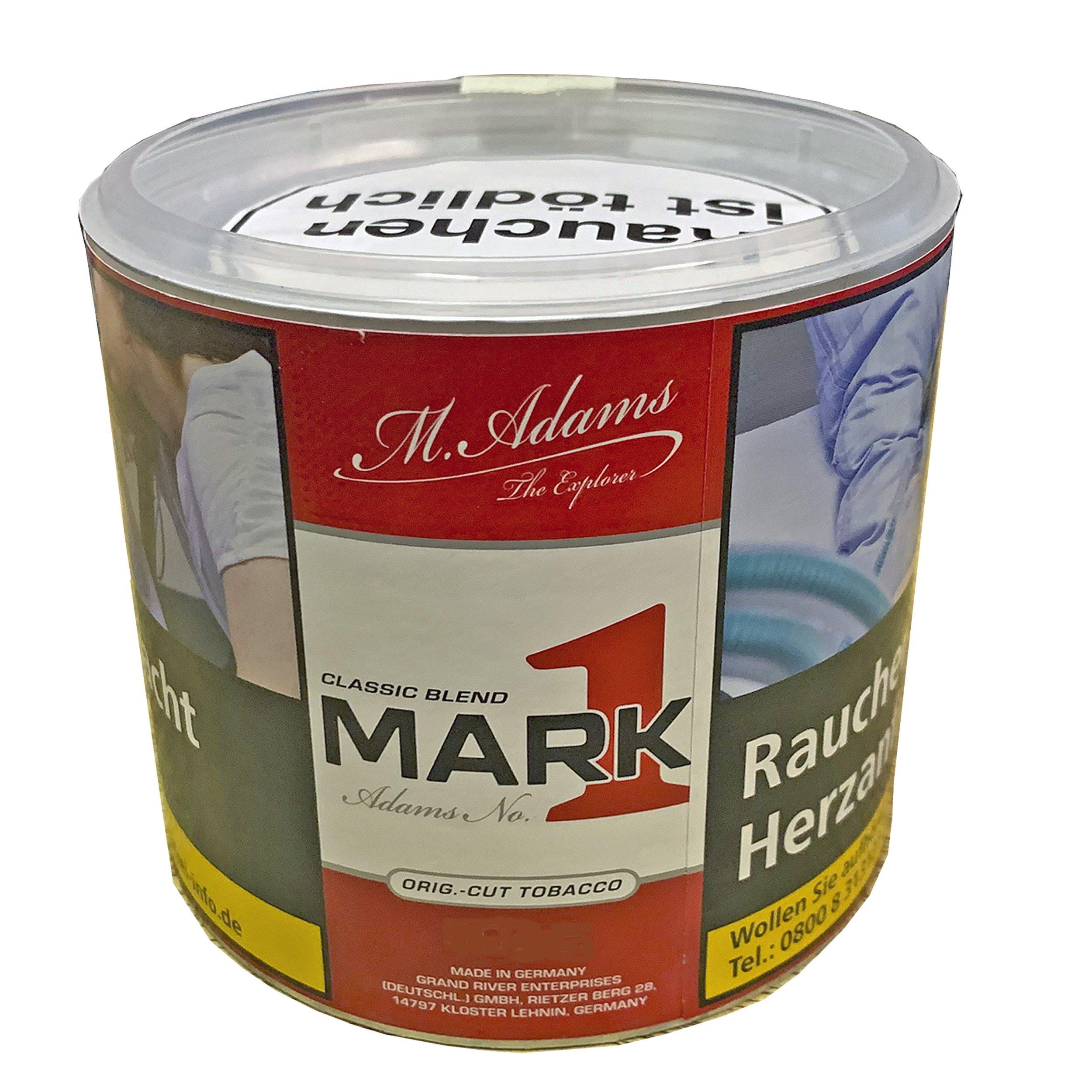 Mark1 - Mark Adams No 1 Tabak Dosen 80 g