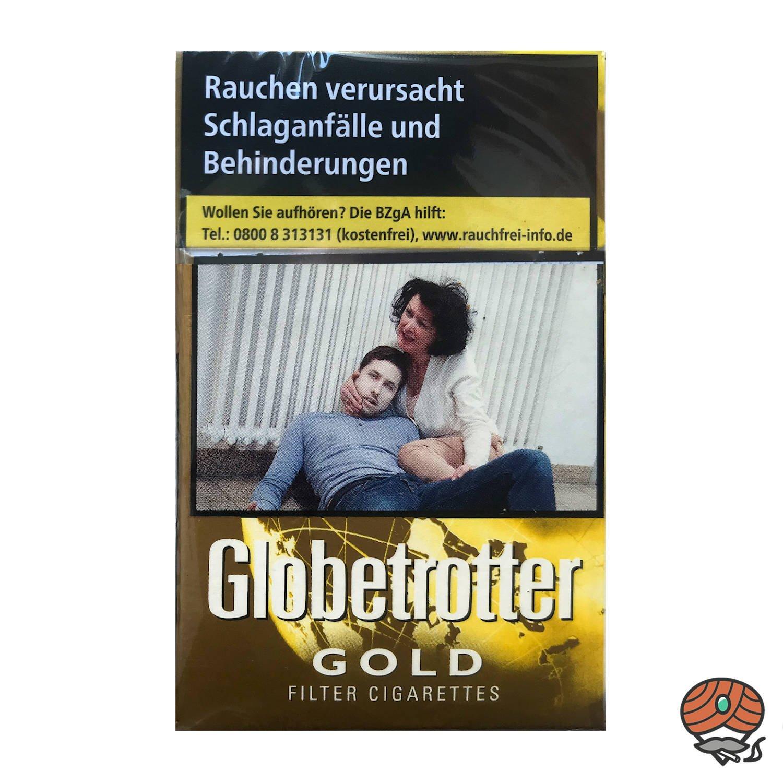 Globetrotter GOLD Zigaretten OP - 20 Stück
