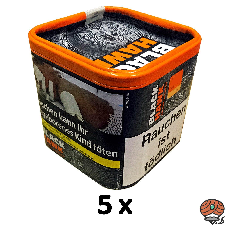 5x Black Hawk Volumentabak Dose à 30g